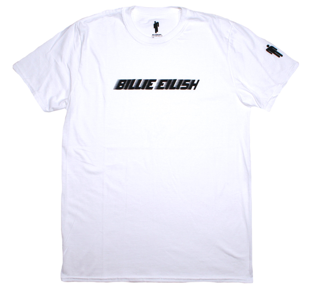 Billie Eilish / Racer Logo Tee (White)