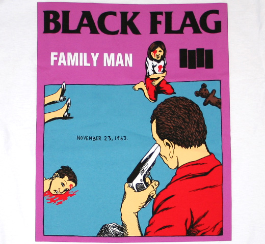 Black Flag / Family Man Tee