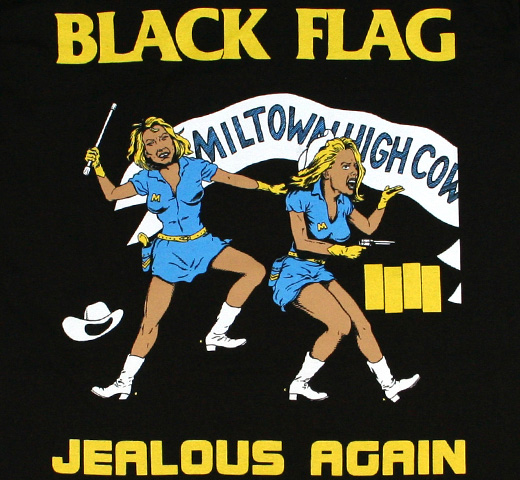 Black Flag / Jealous Again Tee