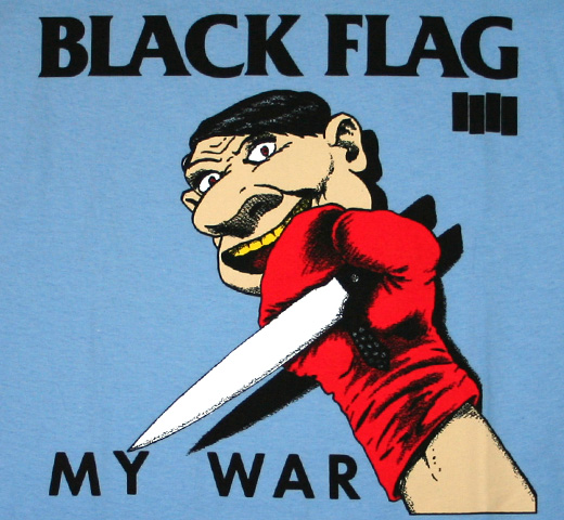 Black Flag / My War Tee (Sax)