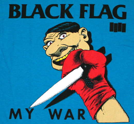 Black Flag / My War Tee (Turquoise)