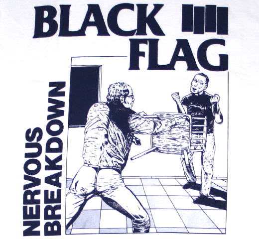 Black Flag / Nervous Breakdown Tee