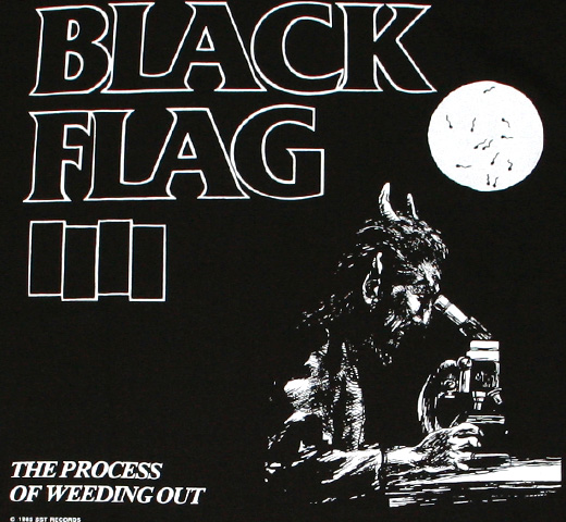 Black Flag / The Process of Weeding Out Tee