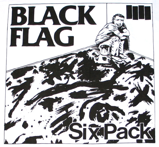 Black Flag / Six Pack Tee