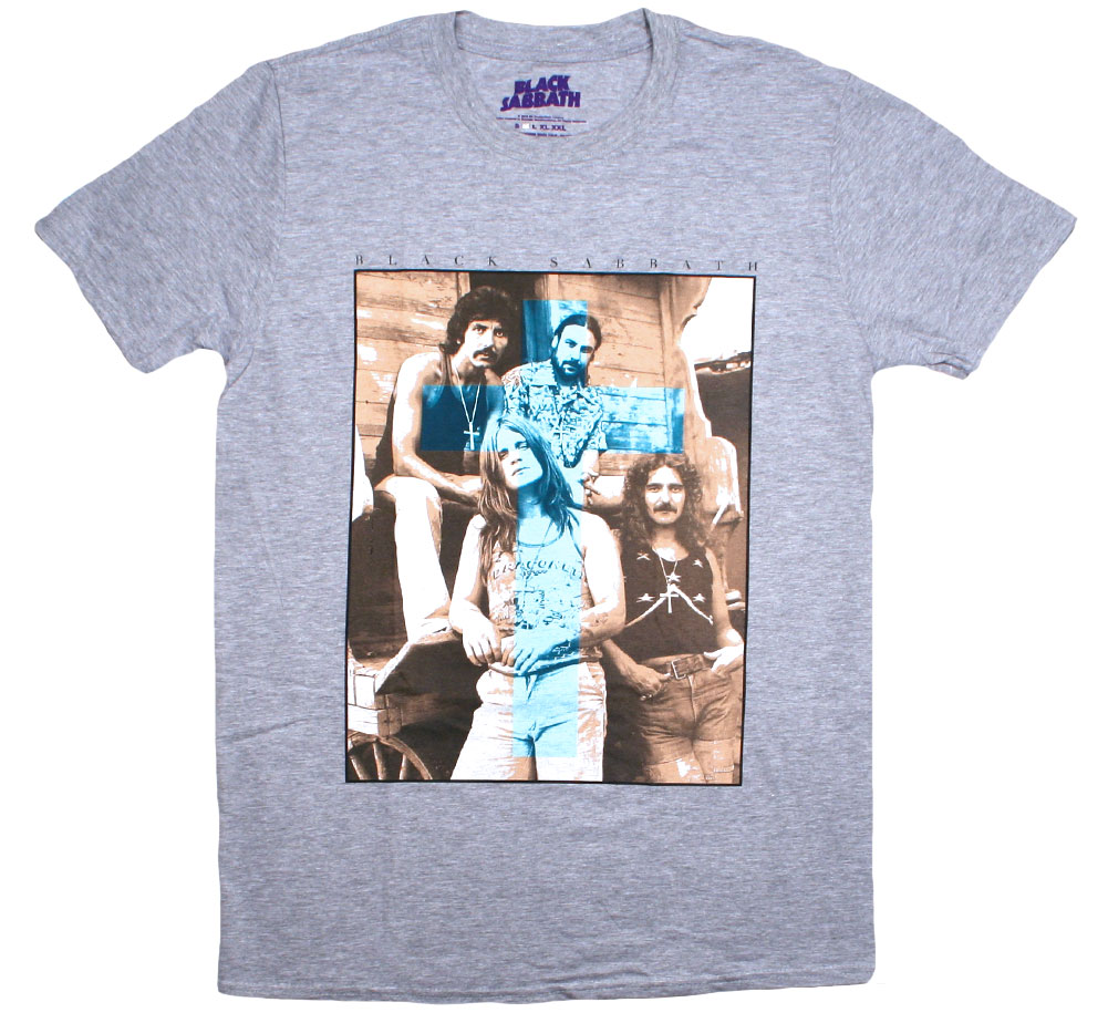 Black Sabbath / Band Members Tee (Grey)