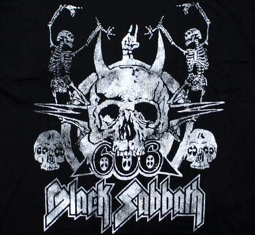 Black Sabbath / 666 Tee (Black)