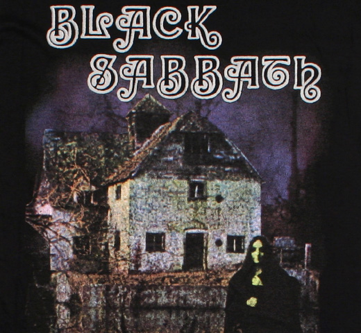 Black Sabbath / Black Sabbath Tee (Black)