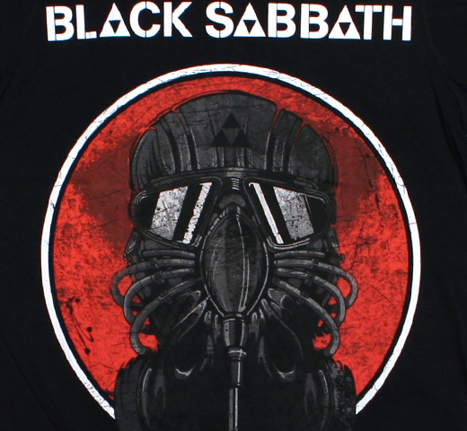 Black Sabbath / World Tour 2014 Tee (Black)