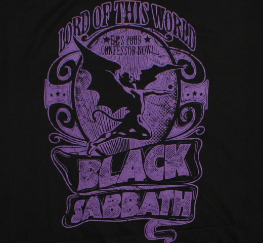 Black Sabbath / Lord of This World Tee (Black)