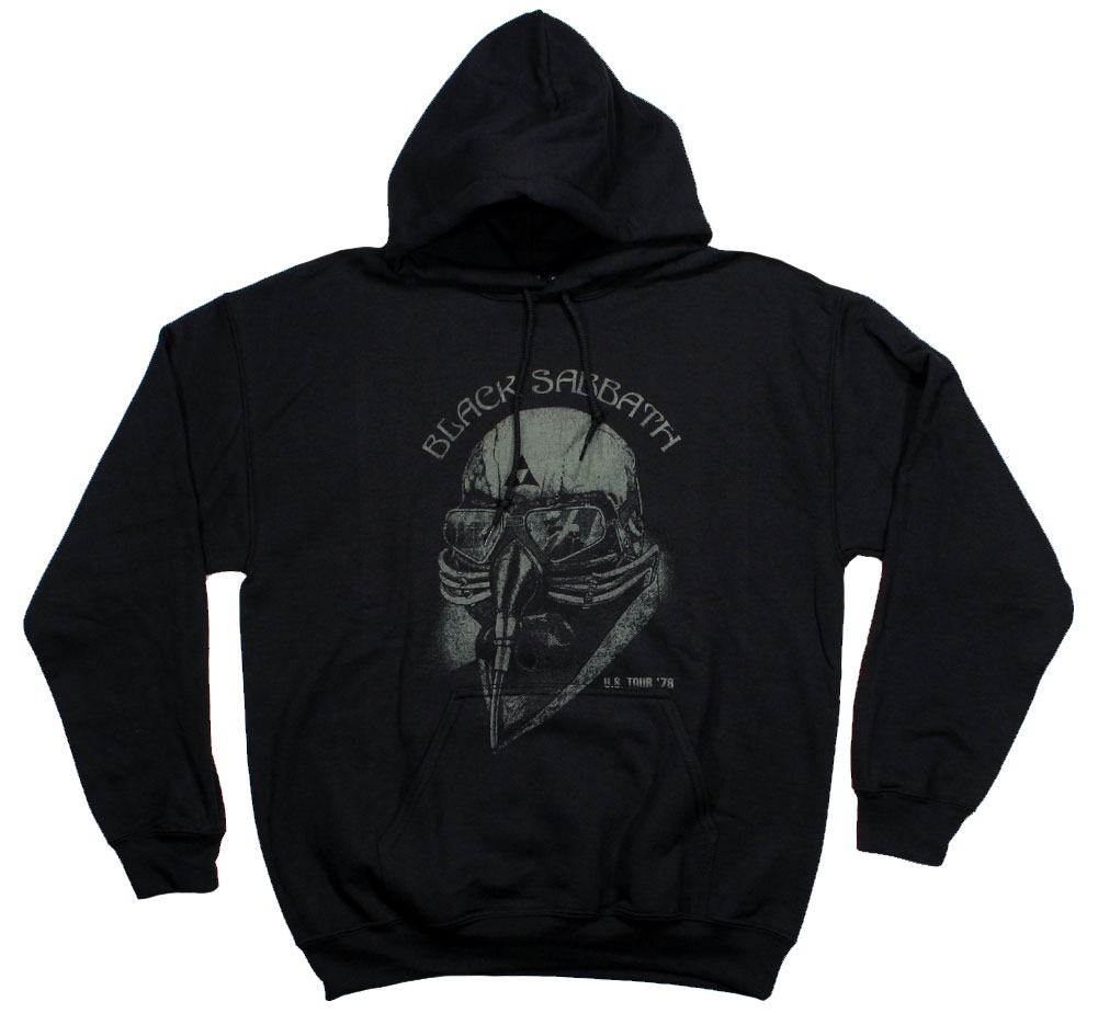 Black Sabbath / U.S. Tour '78 Hood (Black)