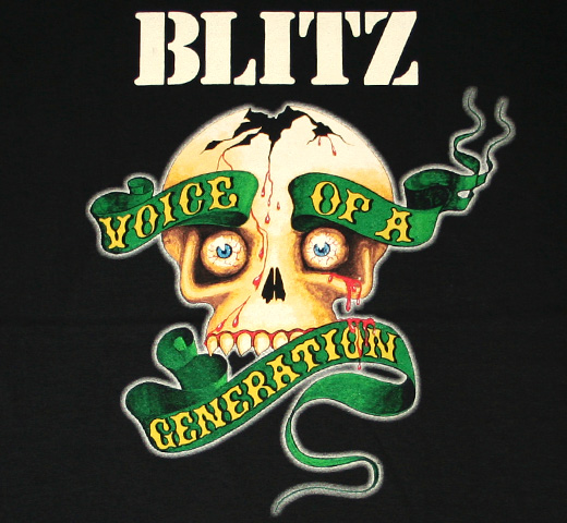 Blitz / Voice of a Generation Tee