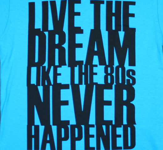 Bloc Party. / Dream Tee (Turquoise)