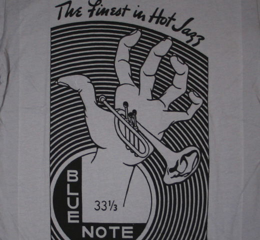 Blue Note Records / Hand of Jazz Tee