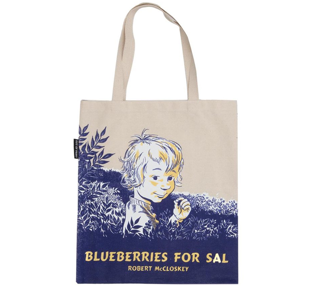 【Out of Print】 Robert McCloskey / Blueberries for Sal Tote Bag