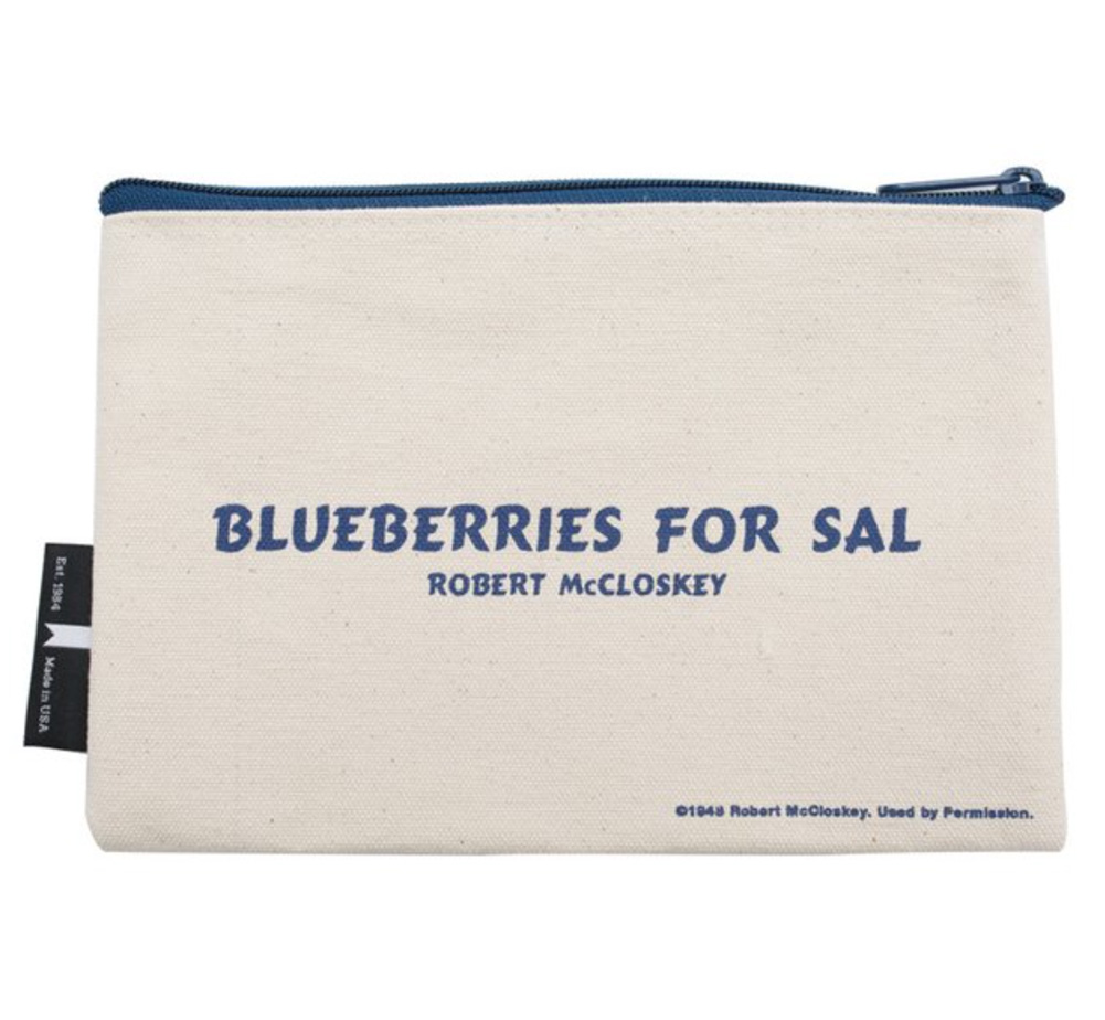 【Out of Print】 Robert McCloskey / Blueberries for Sal Pouch