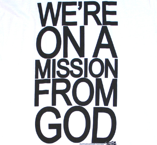 The Blues Brothers / Mission From God Tee (White)