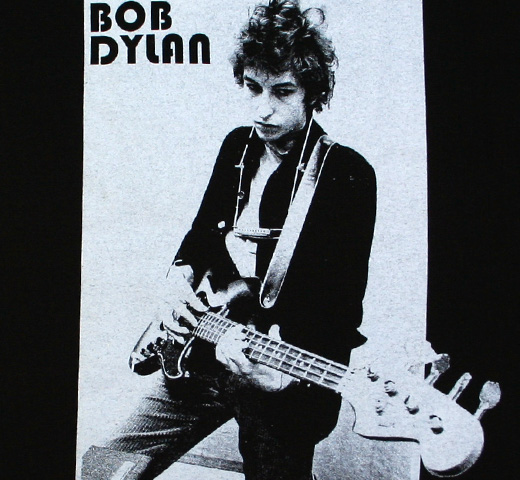 Bob Dylan / Blowin' in the Wind Tee (Black)