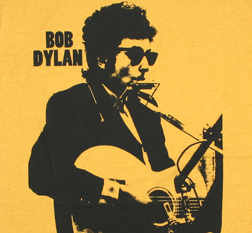 Bob Dylan / Recording Bringing It All Back Home Tee (Ginger Yellow)