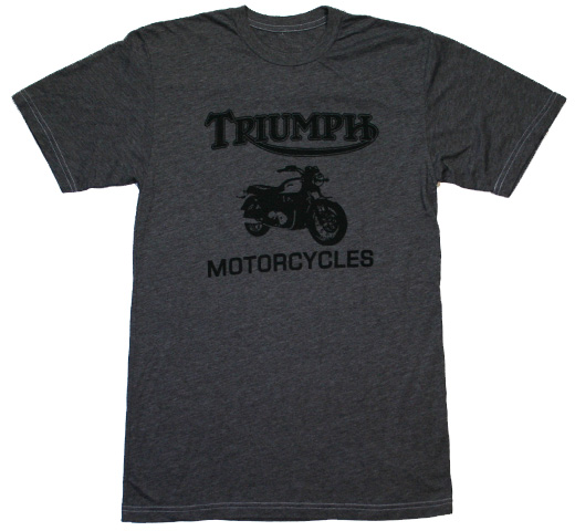 【Worn Free】 Bob Dylan / Triumph Tee (Heather Grey)