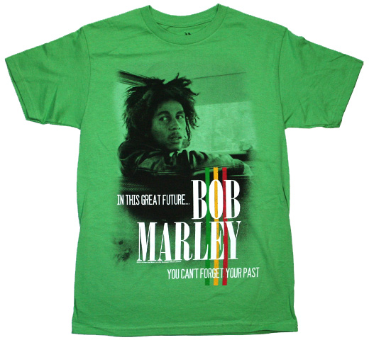 Bob Marley / You Can't Forget Your Past Tee (Grass Green)