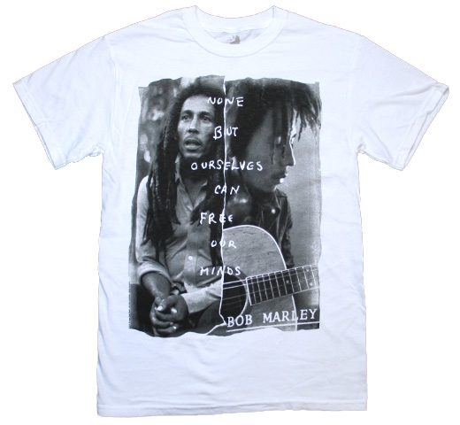 Bob Marley / Free Our Minds Tee (White)