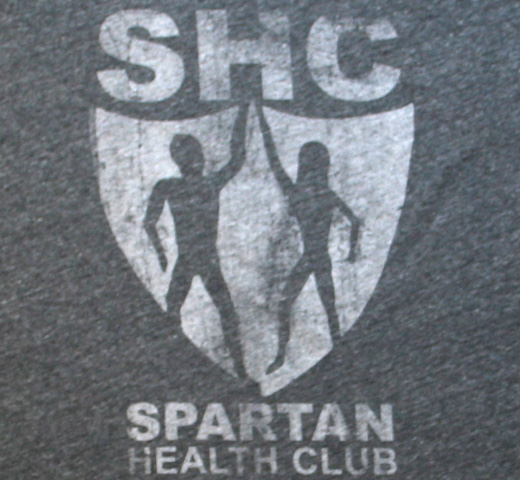【Worn Free】 Bob Marley / Spartan Health Club Scoop Neck Tee (Heather Grey) (Womens)