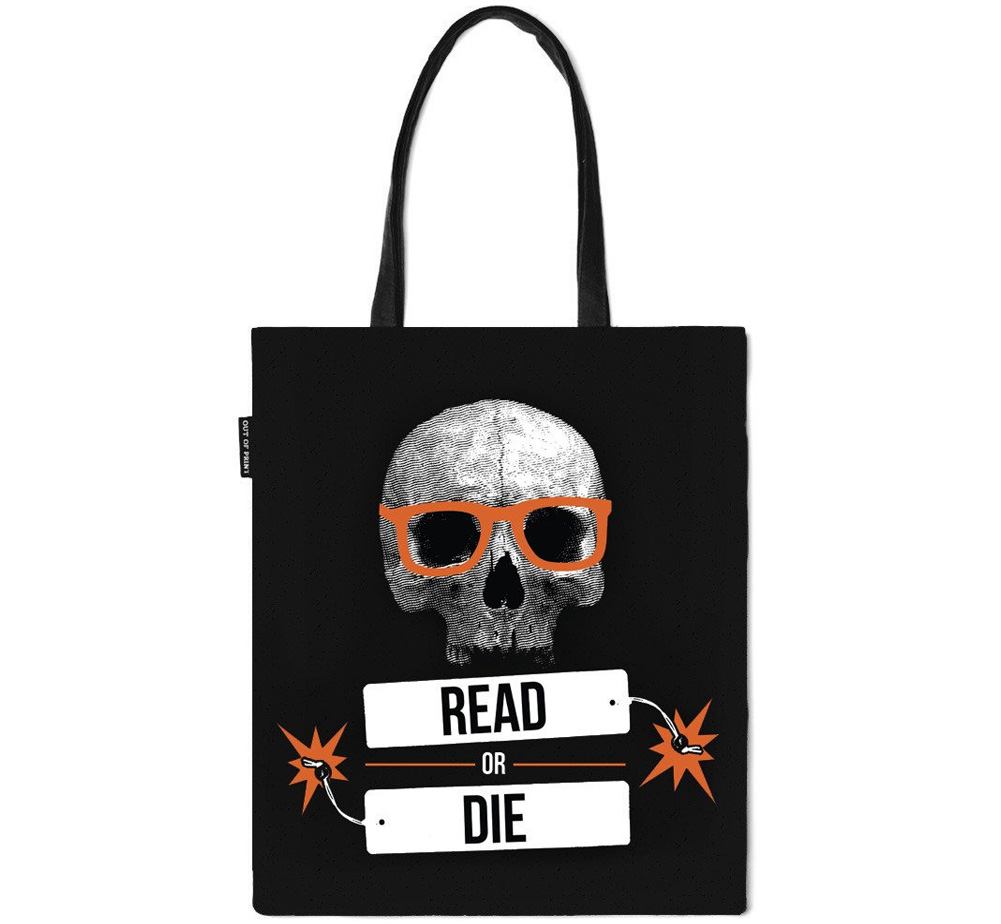 【Out of Print】 Book Riot / READ OR DIE Tote Bag