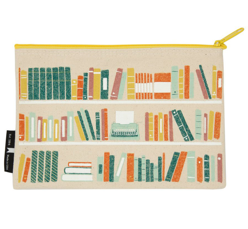 [Out of Print] Bookshelf Pouch