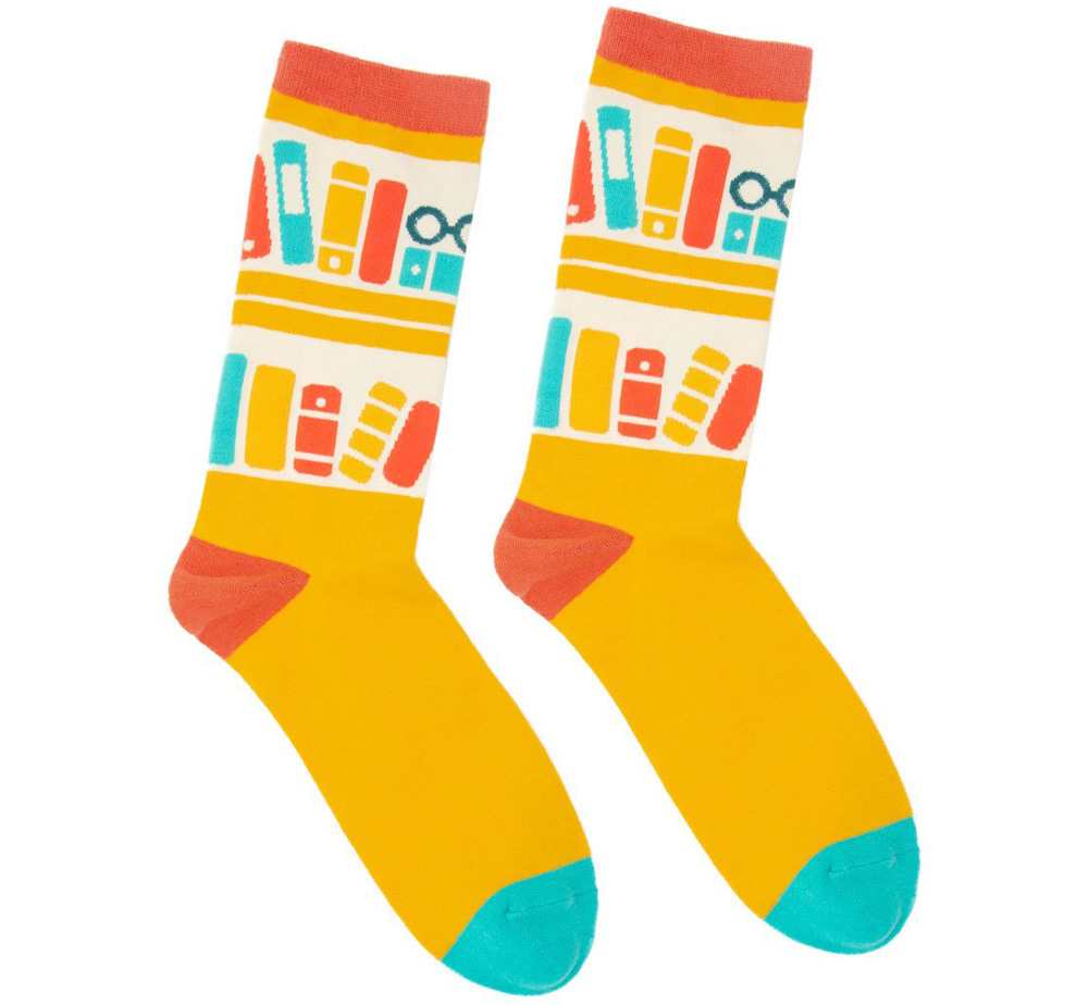 [Out of Print] Bookshelf Socks