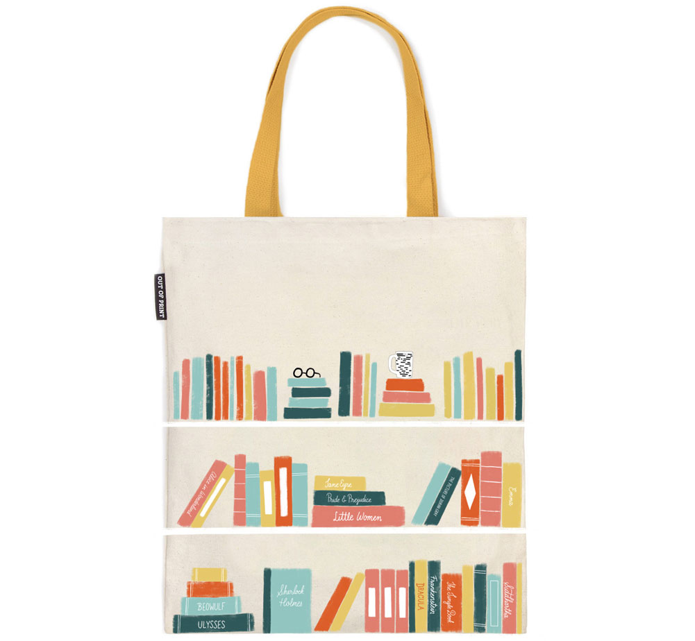 [Out of Print] Bookshelf Tote Bag