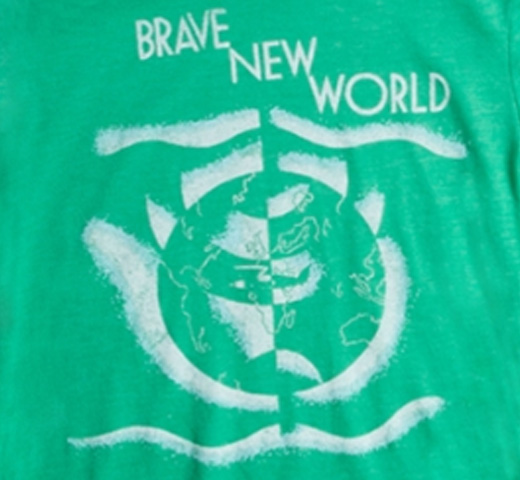[Out of Print] Aldous Huxley / Brave New World Tee (Green) (Womens)