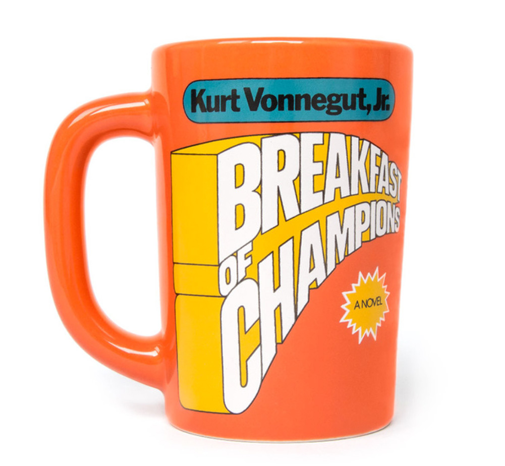【Out of Print】 Kurt Vonnegut / Breakfast of Champions Mug