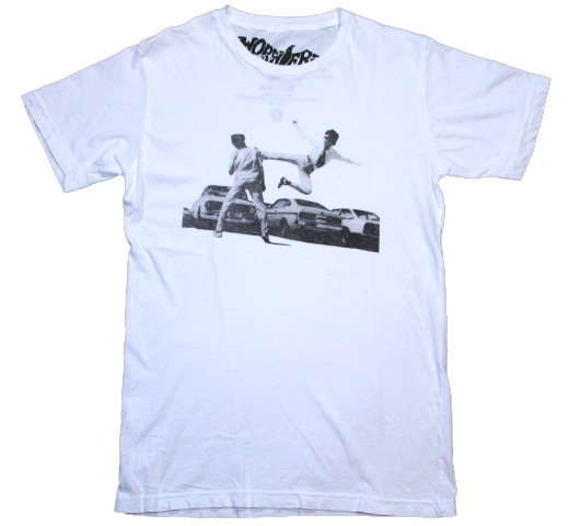 【Worn Free】 Bruce Lee / Carpark Tee (White)