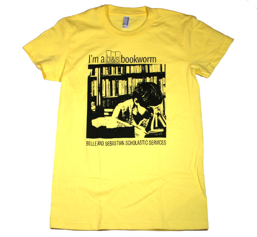 Belle & Sebastian / Bookworm Tee (Ladies)