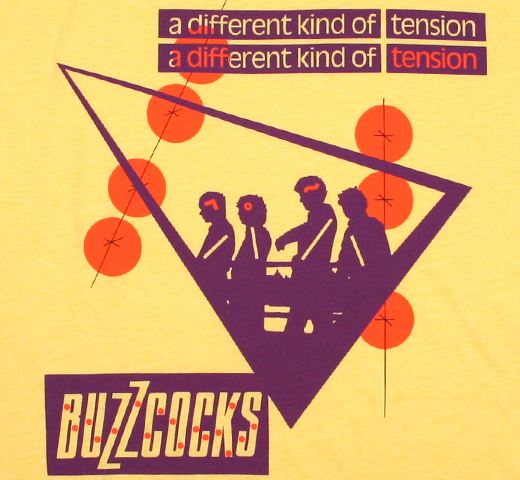 Buzzcocks / A Different Kind of Tension Tee (Banana Cream)