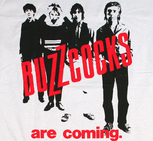 Buzzcocks / BUZZCOCKS are coming. Tee (Silver)