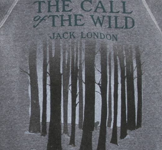 【Out of Print】 Jack London / The Call of the Wild Fleece (Gray)