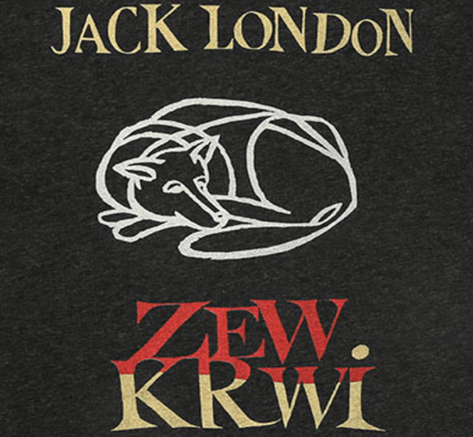 【Out of Print】 Jack London / Zew krwi Tee (Black)