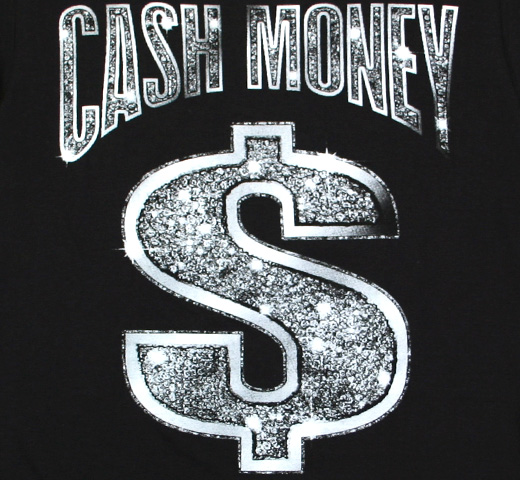 Cash Money Records / Logo Tee (Black)
