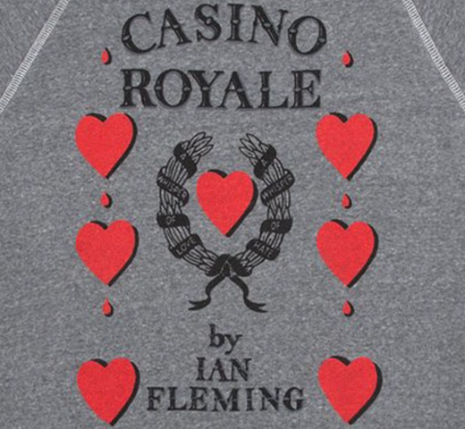[Out of Print] Ian Fleming / Casino Royale Sweatshirt (Grey)