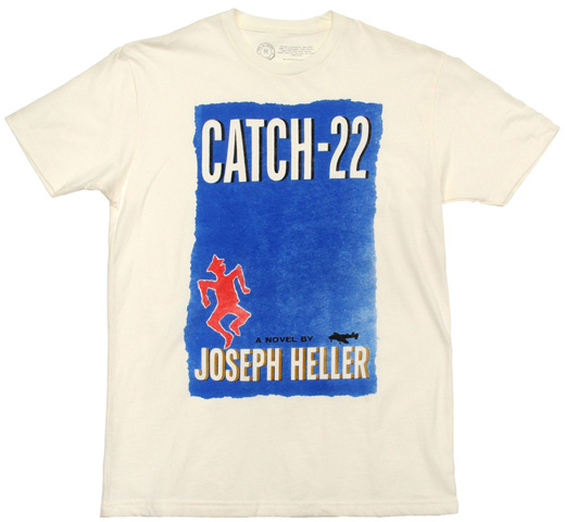 【Out of Print】 Joseph Heller / Catch-22 Tee (Natural) (US Edition)