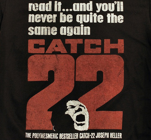 【Out of Print】 Joseph Heller / Catch-22 Tee (Black) (UK Edition)