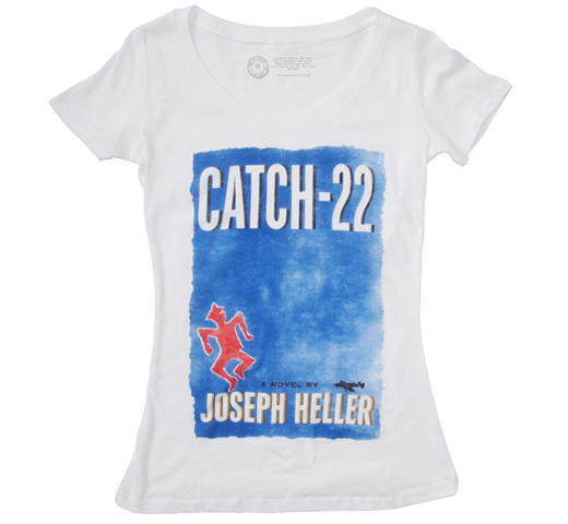 【Out of Print】 Joseph Heller / Catch-22 Tee (Natural) (US Edition) (Womens)