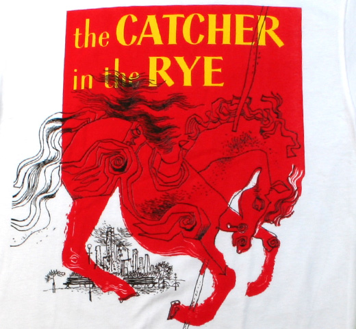 【Out of Print】 J. D. Salinger / Catcher in the Rye Tee (White)
