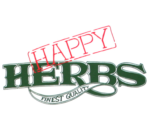 【Worn Free】 Cheech Marin / Happy Herbs Tee (White)