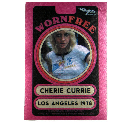 【Worn Free】 Cherie Currie / I'm a LiL' Angel Tee (Yellow)