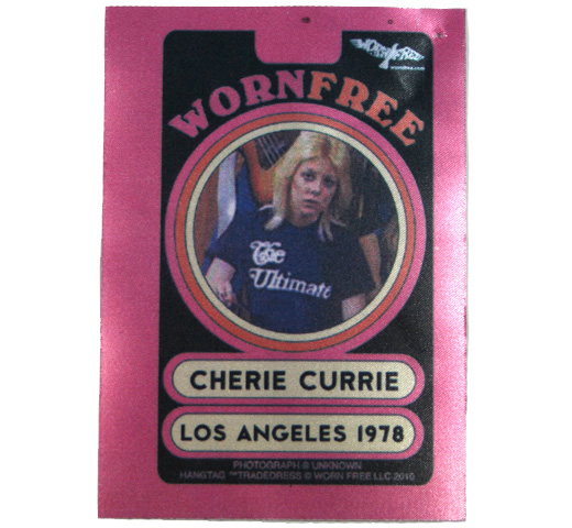 【Worn Free】 Cherie Currie / The Ultimate Tee (Black)