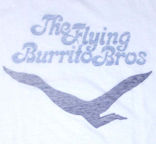 【Worn Free】 Chris Hillman / Flying Burrito Bros Tee