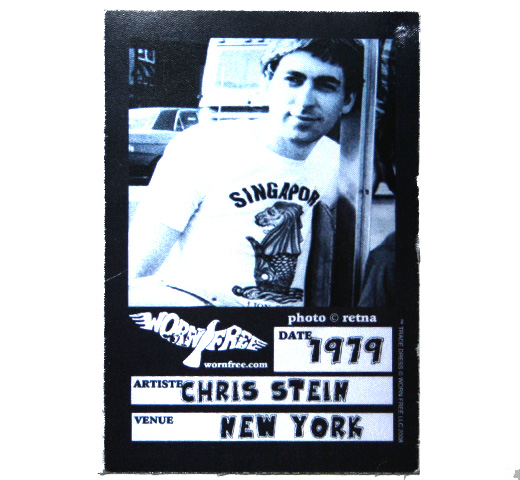 【Worn Free】 Chris Stein / Singapore Tee