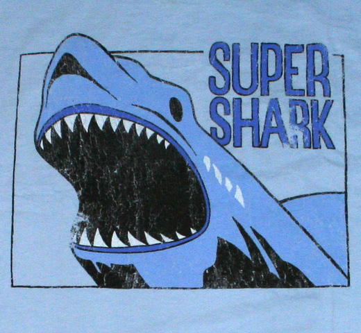 【Worn Free】 Chris Stein / Super Shark Tee